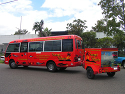Nemo - One of our Great Barrier Reef Tour Buses